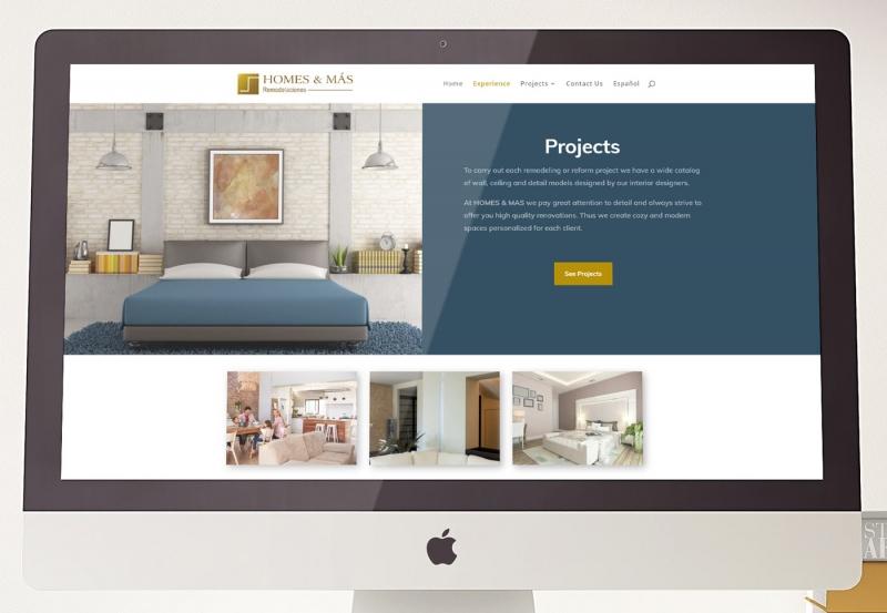 Homes & Más Web Design